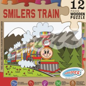 smilers train wooden puzzle