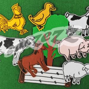 farm animals felt 2