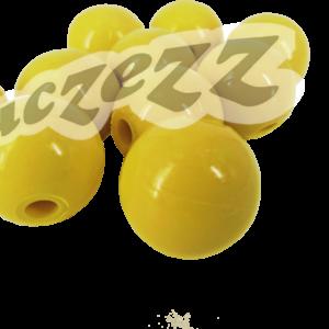 yellow beads 10