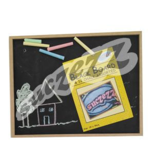 Black Board And Chalk