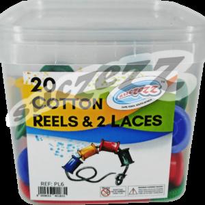 cotton reels 2 laces