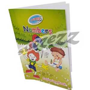 Numbers Colouring Book