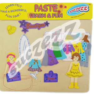 Paste and learn dress up